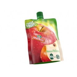 GOURDE SAVEUR POMME NATURE Andros 90gx24