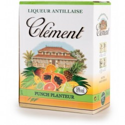 Punch Pina Colada CLEMENT BLANC 18% 3L