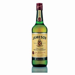 Irish whiskey JAMESON, 40°, 70cl