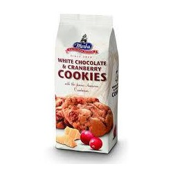 Cookies chocolat blanc cranberries 200gr