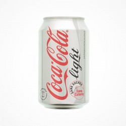 Coca-cola light canette 33cl x24