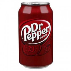 DR PEPPER canette 33cl x24
