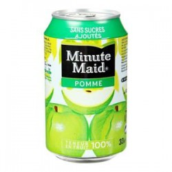 Minute maid pomme canette 33cl x24