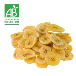 Banane Chips Bio portion 100g