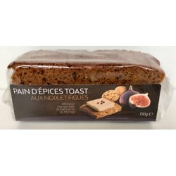 PAIN EPICES TOAST NOIX FIGUES  150GR