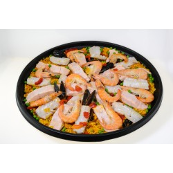 Paella Poisson fruits de mer  3 kg
