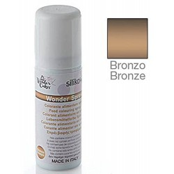 COLORANT ALIMENTAIRE AÉROSOL BRONZE, CONT. 100 ML