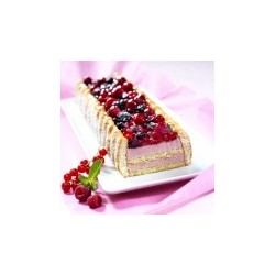 Bande charlotte aux fruits rouges 800g