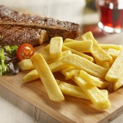 FRITES STEAK HOUSE FRAICHE  2.5 kg