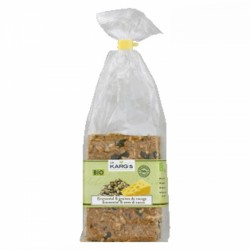 Crackers Fromage & Graines Bio, Dr Karg's, 200g
