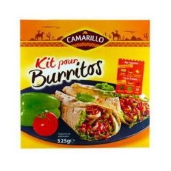 kit burritos 505gr